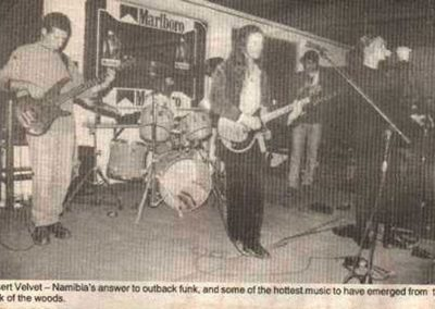 A rare press clipping from 1997