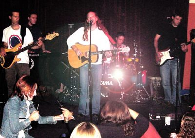 Live at the Armchair Theatre in Cape Town