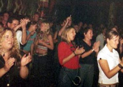 The crowd at the Jam - they dug it